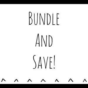 Bundle any items and save!